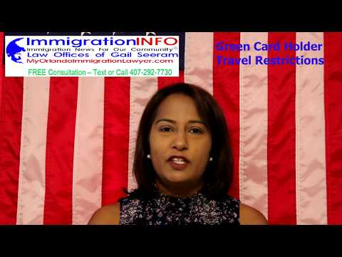 How Long Green Card Holder Can Stay Outside U.S.?  | Immigration Attorney Gail Seeram