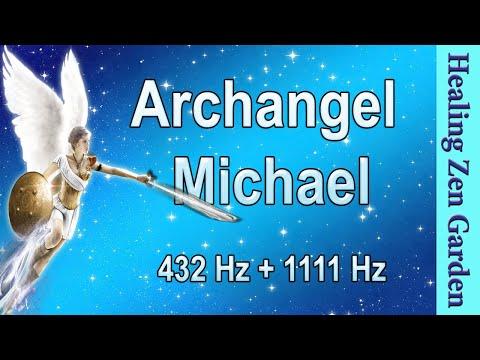 Archangel Michael, 1111 Hz + 432 + 528 Hz Divine Angel Frequency, Healing Zen Garden
