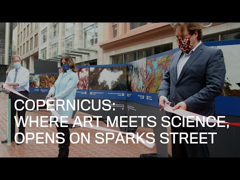 Copernicus: Where art meets science, opens on Sparks Street