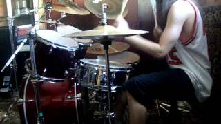 Acid Drinkers - Dancing in the Slaughterhouse (Drum Cover) by headupp