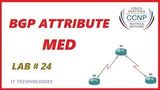 24. BGP Attribute MED