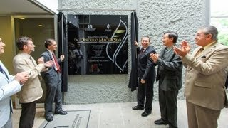 preview picture of video 'Nombramiento biblioteca central Dr. Desiderio Macías Silva'