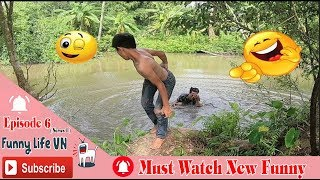 Must Watch New Funny 😂Comedy Videos 2019 Episode 6 [Series1]Maybe The Lake is Very Cool