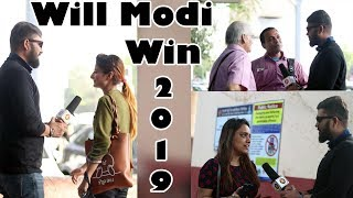 Will Narendra Modi Win the 2019 elections | Yes Or No - Public Opinion | Unglibaaz