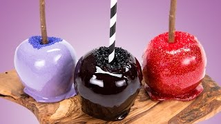 How to Make Candy Apples Two Ways (Traditional Candy Apples and Jolly Rancher Candy Apples Recipes)