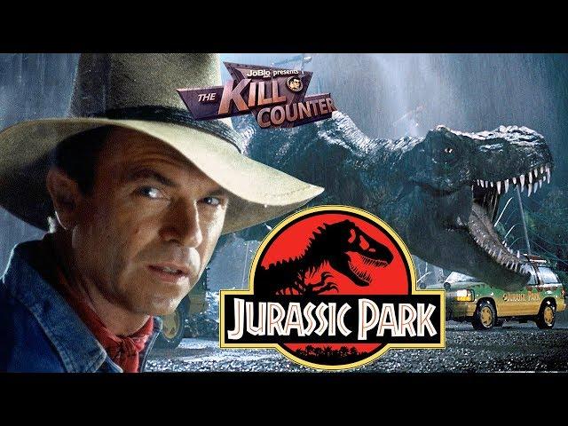 JURASSIC PARK - The Kill Counter (1993) Steven Spielberg