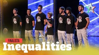 Inequalities, crew da Golden Buzzer