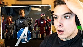 THIS GAME ISN'T REAL! Marvel's Avengers E3 Gameplay Reaction (I almost cried)