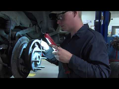 Training for an automotive technician career in high school - YouTube