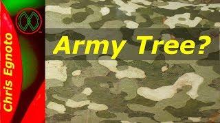 The Army Tree - Bark That Looks Like Camo