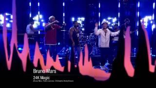 Bruno Mars 24K Magic  Live On Skavlan