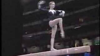 Svetlana Khorkina - 1996 Olympics AA - Balance Beam