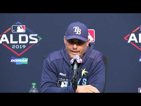 Rays manager Kevin Cash on upcoming ALDS against Houston