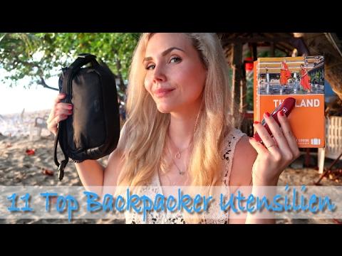 TOP 11 BACKPACKER UTENSILIEN | by Eat Tell Love