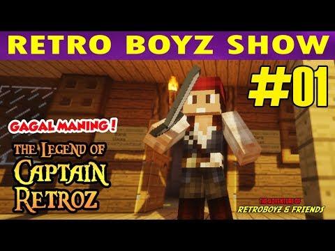 THE LEGEND OF CAPTAIN RETRO | Pirate of Vivas  #1