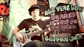 "Guitar Jam ""All Time Low - Damned If I Do Ya"" by Tom from MadCraft (feat. Otto on the drums)"