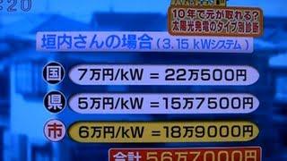 太陽光発電にする?しない?