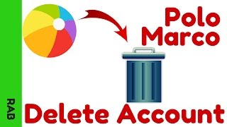 Marco Polo App Tutorial - How to Delete Your Account in Marco Polo