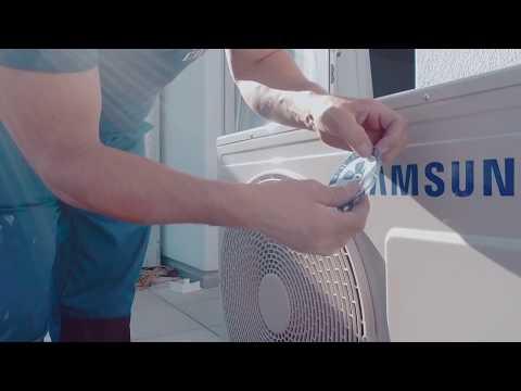 Montage Samsung WindFree von Klimaservice Widmer