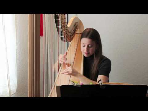 Pozzoli Etude No. 1 for solo harp.