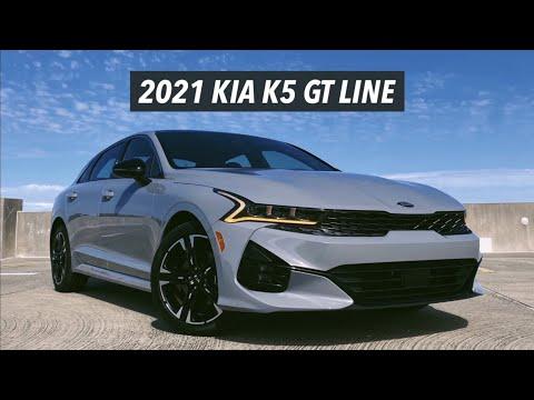 2021 Kia K5 GT Line In-Depth Review - The new OPTIMA