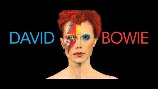 Impressive Transformation to David Bowie (1947 - 2016) - 70's make up [4K]
