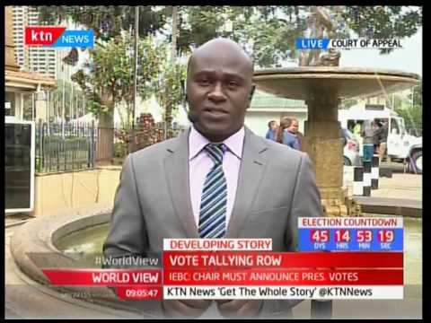 Court of Appeal to give the verdict on presidential vote row