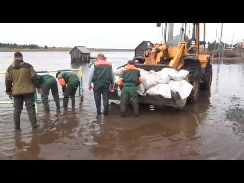 Аварийно-спасательная работа в Шурышкарском районе часть 2