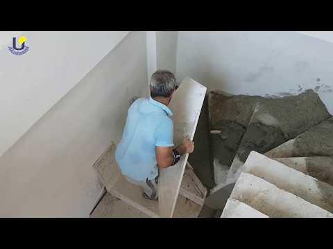 Mermer Ustasından Kendine Has Merdiven (Basamak) Döşeme - marble flooring