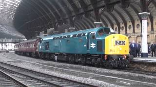 preview picture of video 'British Rail 40145 at York'