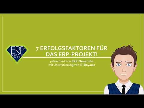 7 Erfolgsfaktoren für das ERP Projekt