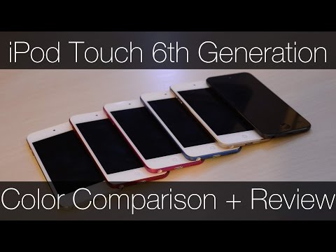 Ipod Touch 6th Generation Color Comparison And Review