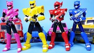 미니특공대 맥스 최강전사 신제품과 파워레인저 다이노포스 장난감 MiniForce Power Rangers Dino Charge figures