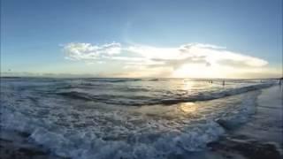 Путешествие, Бали, Кута, пляж. 360 видео, панорамное