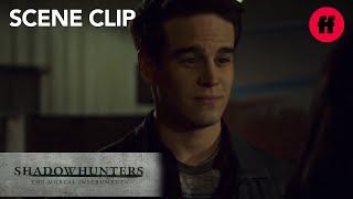Shadowhunters | Season 2, Episode 17: Simon and Izzy Run Into Maia | Freeform