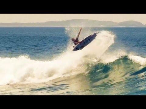 Talented surfers hit Port Macquarie