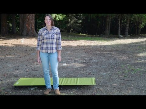 Смотреть видео Кровать Therm-a-rest LuxuryLite UltraLite Cot Large