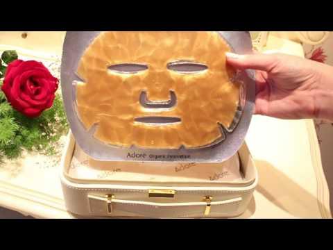 Face mask na may Moroccan clay