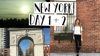 New York Day 1+2 / NYU & SOHO