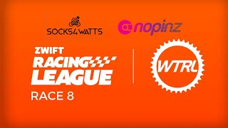 ZRL SEASON 1 // RACE 8 CAT A // Team Time Trial Watopia's Waistband by Verticalife