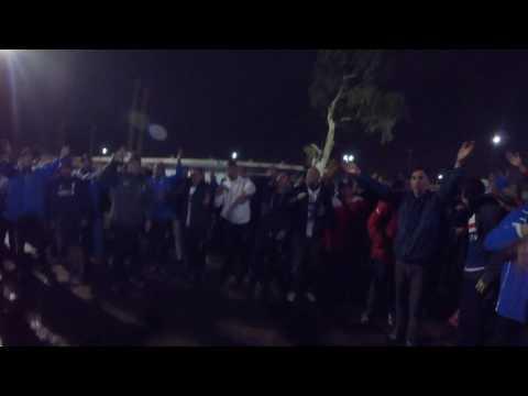 """""""Desde bebé 🎶 Los Cruzados en el nuevo Gasometro"""" Barra: Los Cruzados • Club: Universidad Católica"""