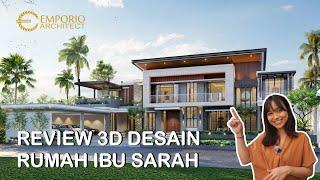 Video Mrs. Sarah Modern House 2 Floors Design - Rangkasbitung, Banten