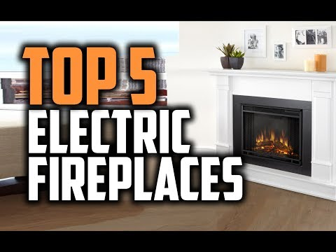 Best Electric Fireplaces in 2018 – Which Is The Best Electric Fireplace?