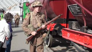 preview picture of video 'Salute To The 40s at The Chatham Historic Dockyard September 2011'
