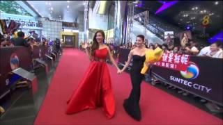 《红星大奖20》星光大道 Star Awards 20 Red Carpet : Jeanette Aw 欧萱