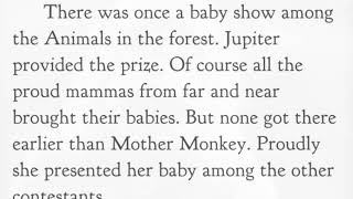 Aesop's Fables Jupiter and the Monkey
