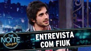 The Noite (22/07/16) - Entrevista Com Fiuk