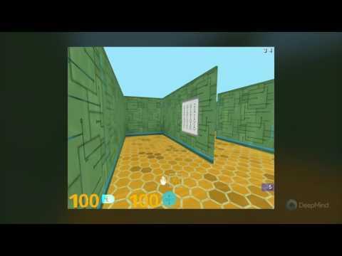 DeepMind Lab - Nav Maze Level 1