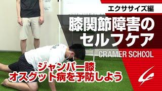 膝関節障害のセルフケア1 エクササイズ編