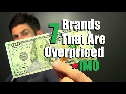7 Clothing Brands That Are Overpriced IMO   Don't Waste Your Money IMO